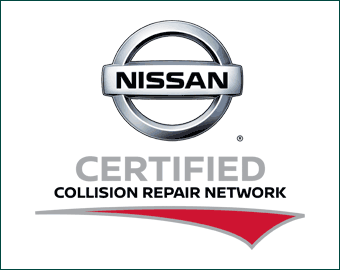 Certified Nission Collision Logo